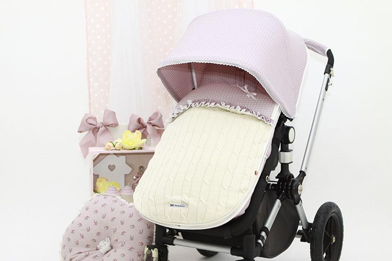 BabyLuna diseña y confecciona fundas para carritos y sillas de paseo de bebés de la marca Bugaboo