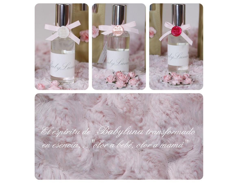 Aguas de perfume y ambientador para carritos de bebé diseñados por BabyLuna