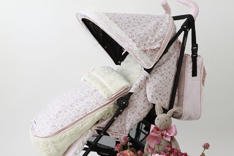 Fundas, capotas, sacos y colchonetas para carros y sillas Maclaren en diferentes modelos (Twein-Techno, Quest, BMW, XT...) diseñados por BabyLuna