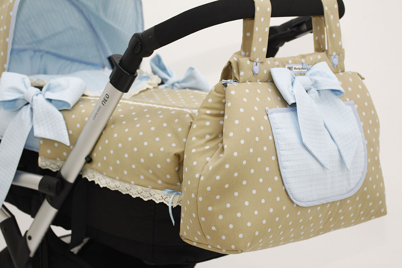 Fundas, capotas, colchas, sacos y colchonetas para sillas de paseo Concord diseñados por BabyLuna